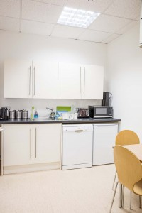 serviced offices kitchen