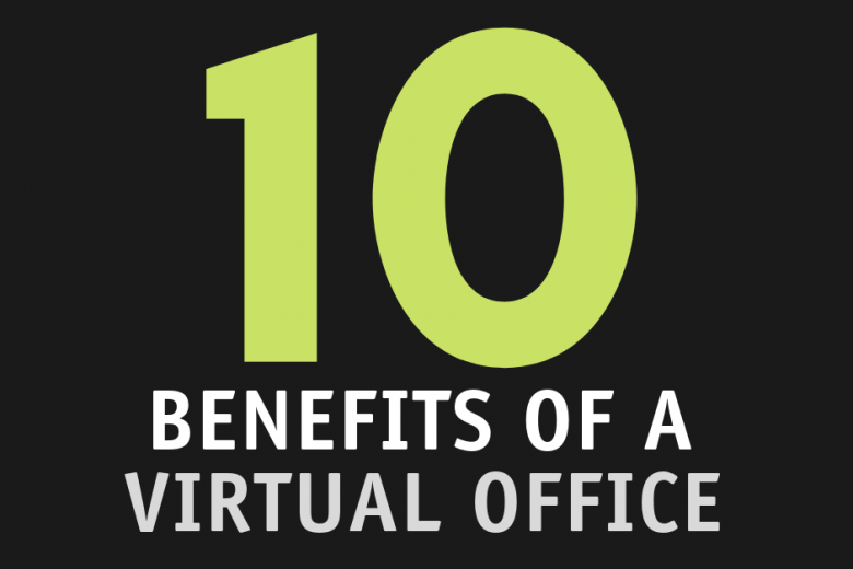 Infographic: Benefits of a virtual office
